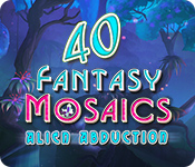 Fantasy Mosaics 40: Alien Abduction