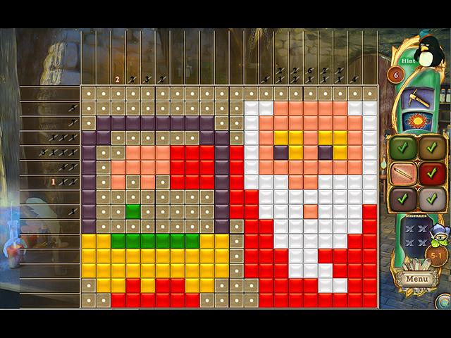 Fantasy Mosaics 41: Wizard's Realm - Screenshot