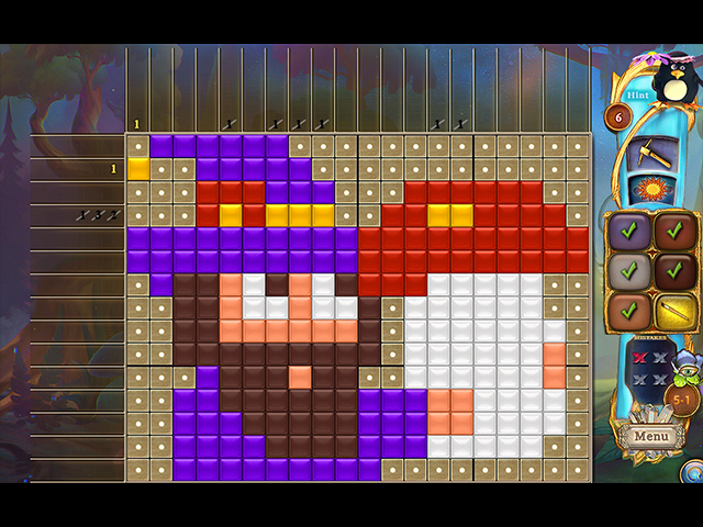 Fantasy Mosaics 42: Fairyland - Screenshot