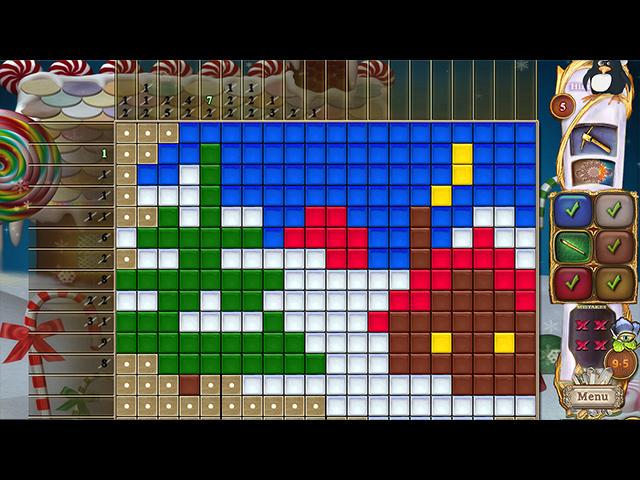 Fantasy Mosaics 44: Winter Holiday - Screenshot