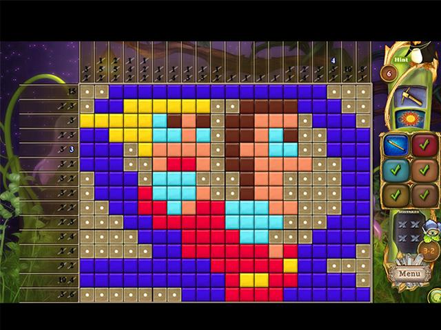 Fantasy Mosaics 45: Amusement Park - Screenshot