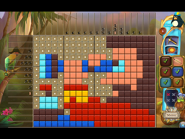 Fantasy Mosaics 46: Pirate Ship - Screenshot