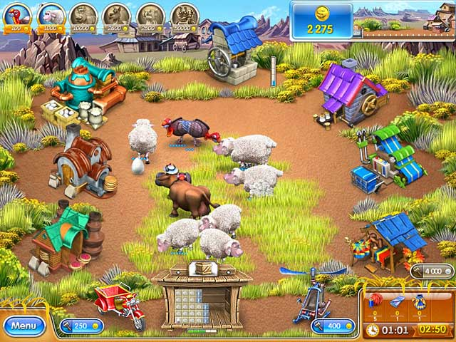 Farm Frenzy 3: American Pie > iPad, iPhone, Android, Mac & PC Game