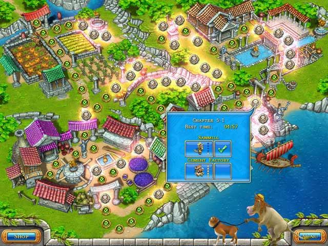 Farm frenzy ancient rome ipad iphone android mac for Fish farm games