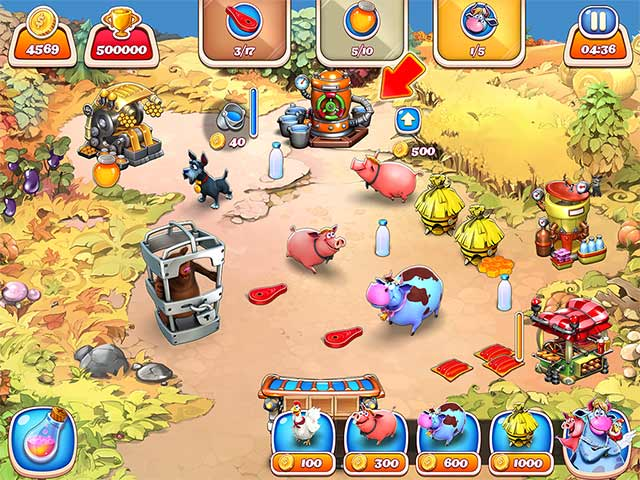 Farm Frenzy Inc  > iPad, iPhone, Android, Mac & PC Game   Big Fish