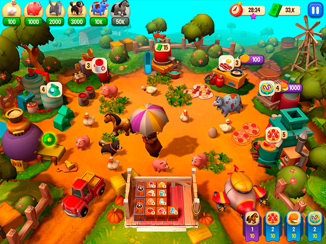 Farm Frenzy Refreshed Collector's Edition - Screenshot