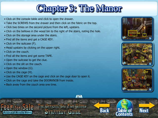 Fear for sale mystery of mcinroy manor strategy guide for Big fish casino promo codes