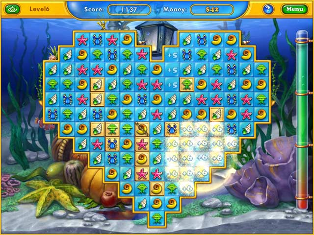 Fishdom seasons under the sea ipad iphone android for Big fish games video games