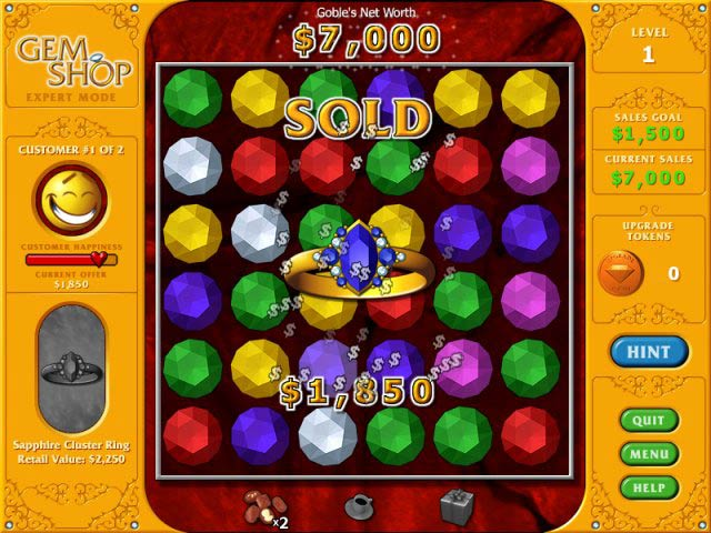 Gem Shop > iPad, iPhone, Android, Mac & PC Game | Big Fish