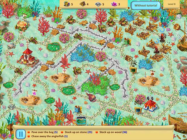 Gnomes Garden: Return Of The Queen Collector's Edition - Screenshot