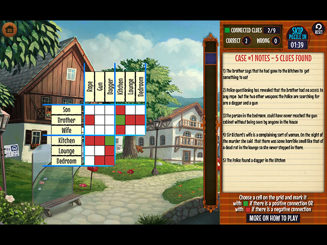 GO Team Investigates: Solitaire and Mahjong - Screenshot 2