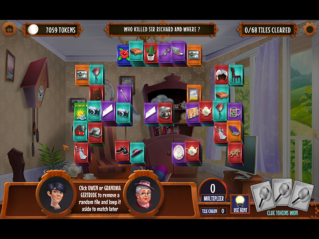 GO Team Investigates: Solitaire and Mahjong - Screenshot 3