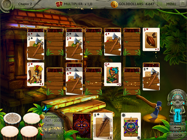 Gold of the Incas Solitaire screen2