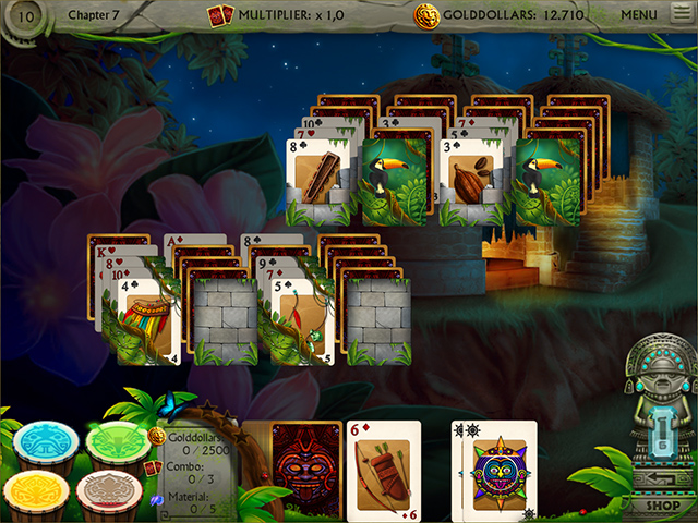 Gold of the Incas Solitaire screen3
