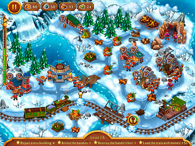 Golden Rails: Small Town Story Collector's Edition - Screenshot