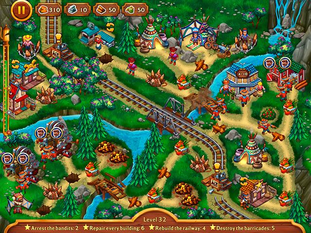Golden Rails: Small Town Story - Screenshot