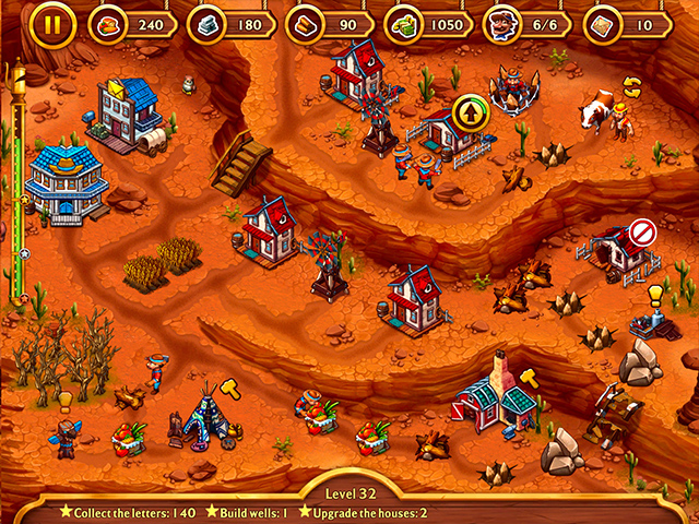 Golden Rails: Tales of the Wild West - Screenshot