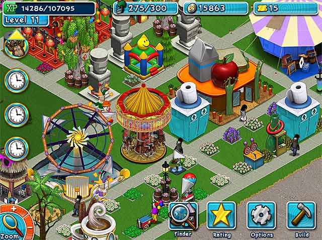 Golden ticket: an amusement park sim game > ipad, iphone, android.