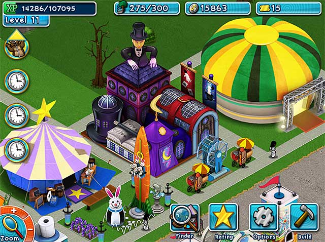 Golden ticket an amusement park sim game ipad iphone for Big fish games manager