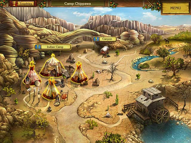 Golden trails the new western rush ipad iphone for Big fish games new