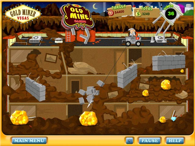 Get the full version of Gold Miner Vegas for 2.99
