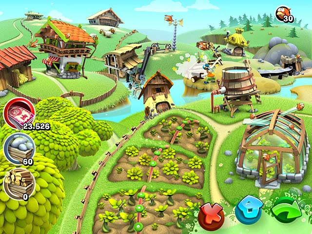 Green valley fun on the farm ipad iphone android mac for Fish farm games