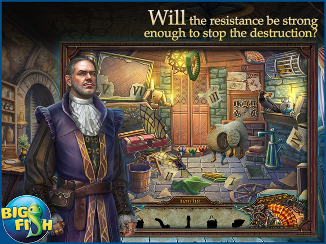 Screenshot for Grim Facade: The Artist and The Pretender Collector's Edition