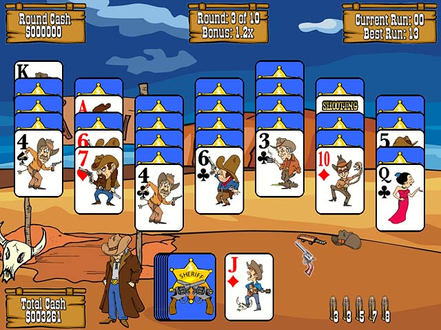 Video for Gunslinger Solitaire