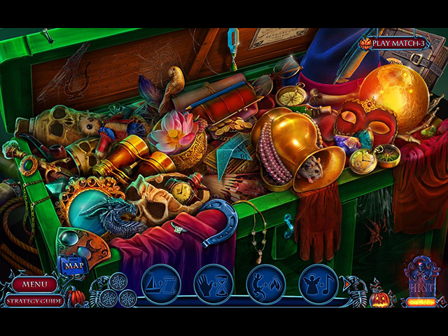 Halloween Chronicles: Evil Behind a Mask Collector's Edition - Screenshot