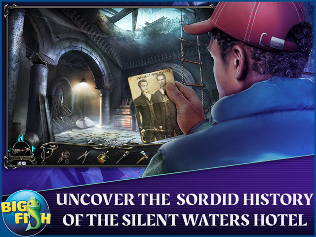 Screenshot for Haunted Hotel: Silent Waters Collector's Edition