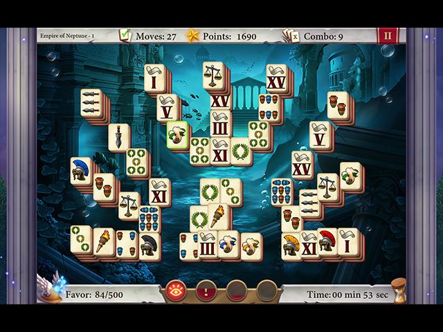 Heaven of Rome Mahjong - Screenshot