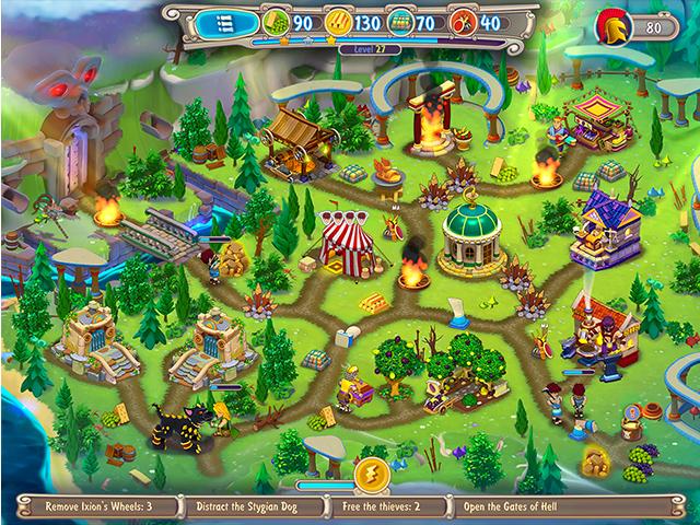 Hermes: Tricks of Thanatos Collector's Edition - Screenshot