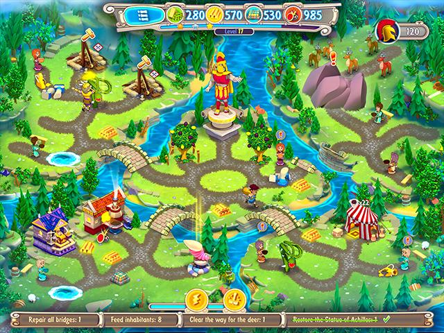 Hermes: War of the Gods Collector's Edition - Screenshot