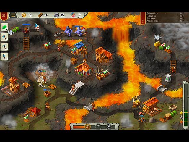 Heroes of Rome: Dangerous Roads - Screenshot
