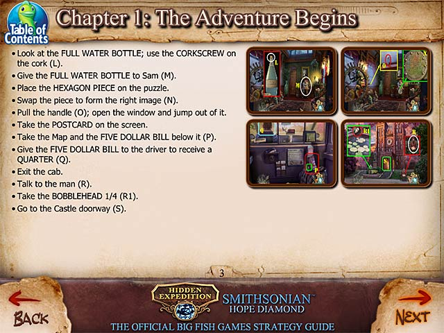 Hidden Expedition Smithsonian Hope Diamond Strategy Guide Ipad Iphone Android Mac Pc Game Big Fish
