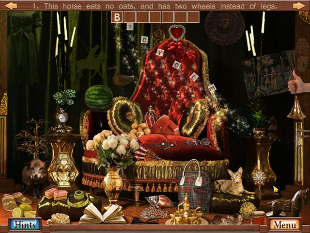 Video for Hidden Object Crosswords