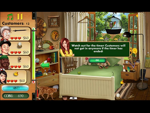 Hidden Object: Home Makeover Screen3