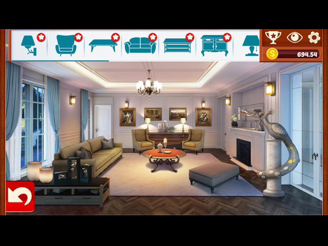 Home Designer: Living Room > iPad, iPhone, Android, Mac & PC Game  Big Fish