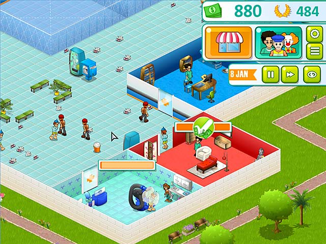 Hospital manager ipad iphone android mac pc game for Big fish game manager