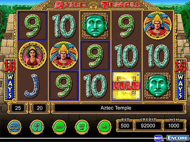 Aztec Temple Slots Play Free