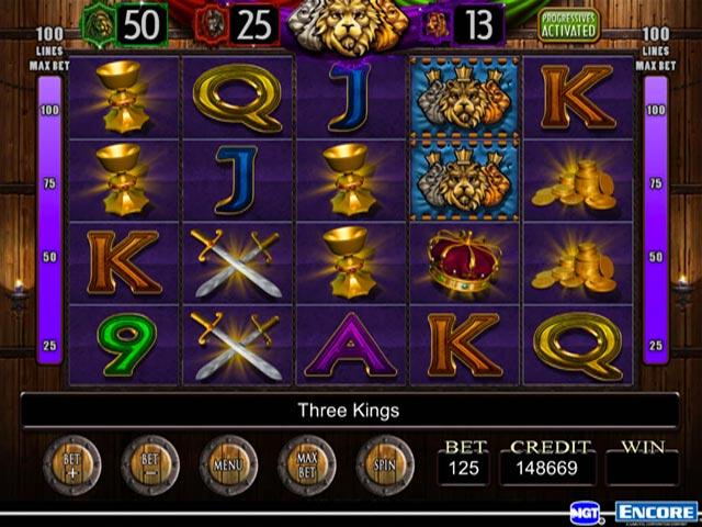 Three Kings Slot Game