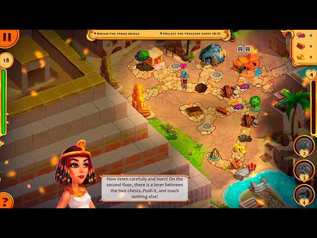 Invincible Cleopatra: Caesar's Dreams - Screenshot