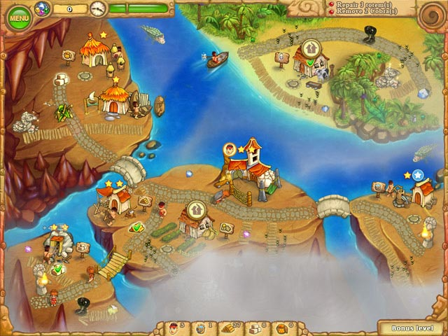Play island tribe 5 > online games | big fish.