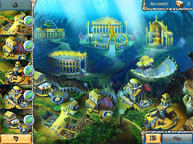 Jewel legends atlantis ipad iphone android mac pc for Big fish games mac