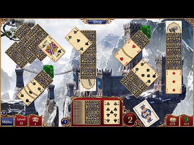 Jewel Match Solitaire 2 - Screenshot 1