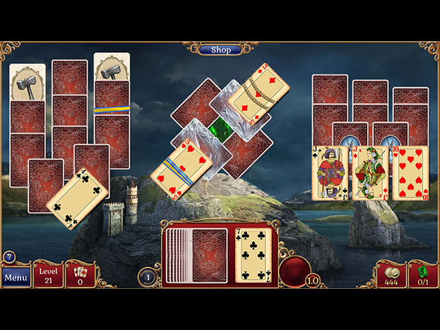 Jewel Match Solitaire 2 - Screenshot