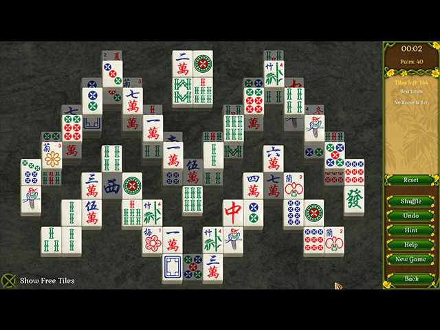 Jewel Match Solitaire: Summertime - Screenshot