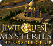 match 3 logic puzzles hidden object mystery software casual games adventure games  Jewel Quest Mysteries: The Oracle of Ur