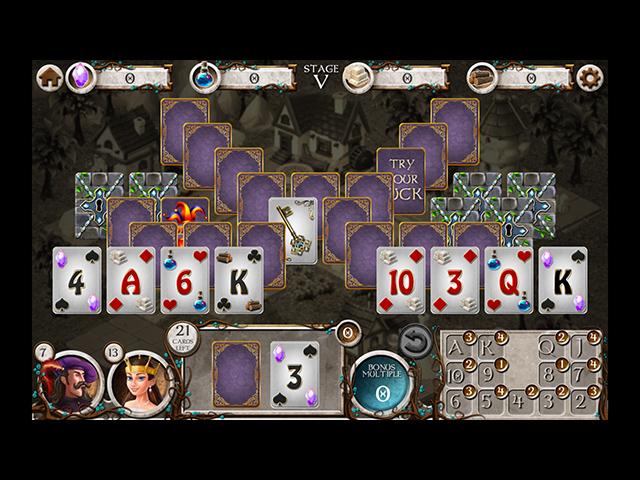 Kingdom Builders: Solitaire - Screenshot
