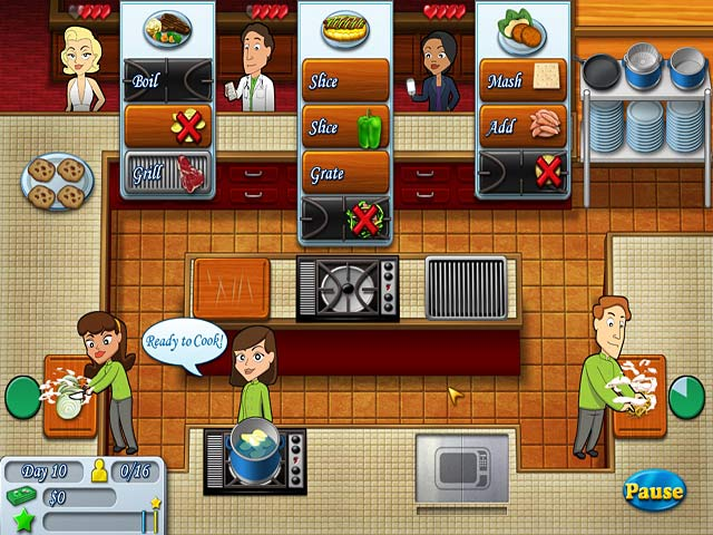 game system requirements - Kitchen Brigade